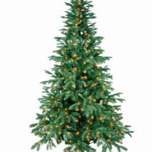 Horpestad Plantesalg * Jul - Kunstige juletrær > Anson Bluepine med lys