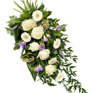 Snittblomster * Begravelse - Elegant-bårebukett