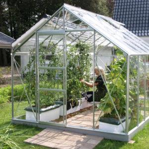 Horpestad Plantesalg * Hagemøbler - Merkur hobbydrivhus