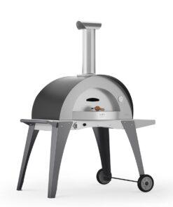 Pizzaovner - Domo gassfyrt pizzaovn * Grå