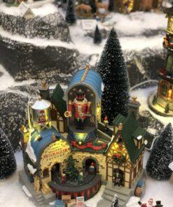 Juleby hos Horpestad Plantesalg