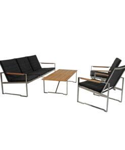 Horpestad Plantesalg * Hagemobler - Gotland sittegruppe, 3 seter, 2 stoler og bord