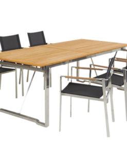 Horpestad Plantesalg * Hagemobler - Gotland spisegruppe, 6 stoler og bord
