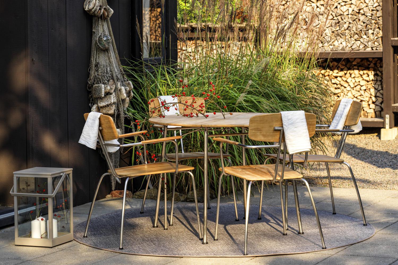 Horpestad Plantesalg * Hagemobler - Kozani bord og 4 stoler